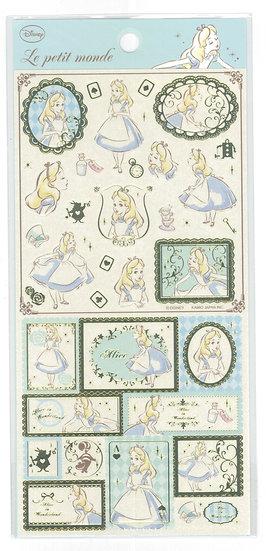 Long Pack Sticker Collection - Alice in Wonderland  Alice poker Sticker