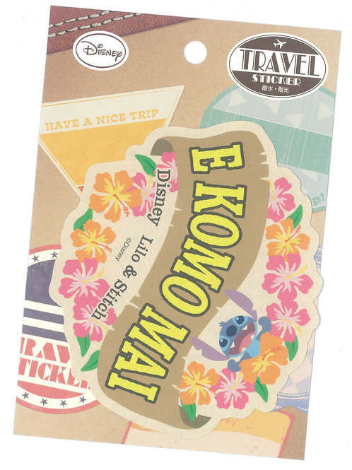 Decoration Sticker Collection - Stitch Flower Travel Disney Decoration Sticker