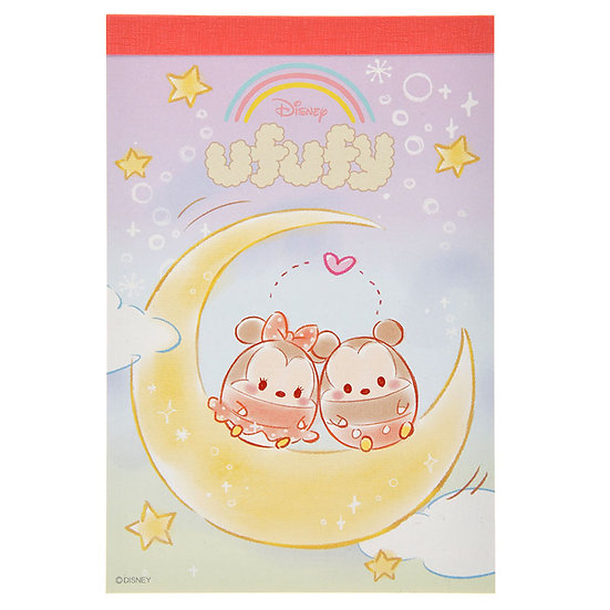 Memo Collection - Disney ufufy Friendship on the Moon A6 Memo pad