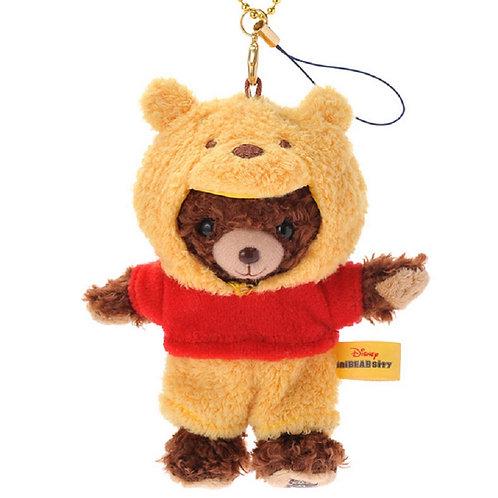 Unibearsity Keychain Collection - Mont The Unibearsity Winnie the pooh Mascot