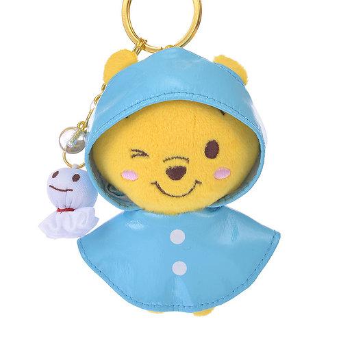 Plushie Keychain Collection : Disneystore Winnie The Pooh Rain Coat Plushie