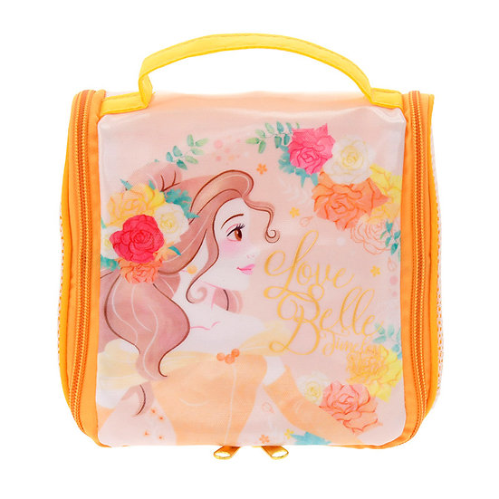 Waterproof / Spa Bag Collection:Spa Shower Hanger Pouch Beauty & the Beast Belle