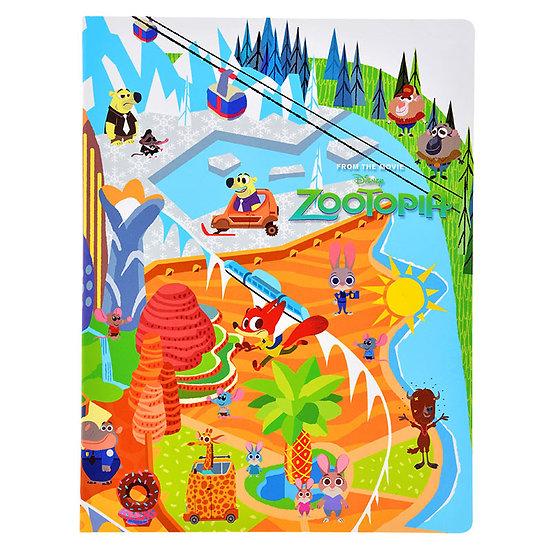 A5 Memo/Sticky Note pad : Zootopia