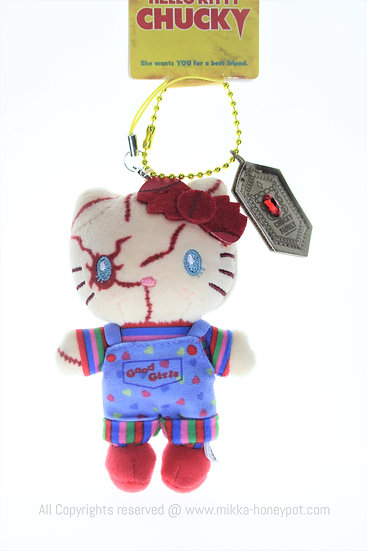 Plushie Keychain Collection - Hello Kitty Chucky Family Universal Studio