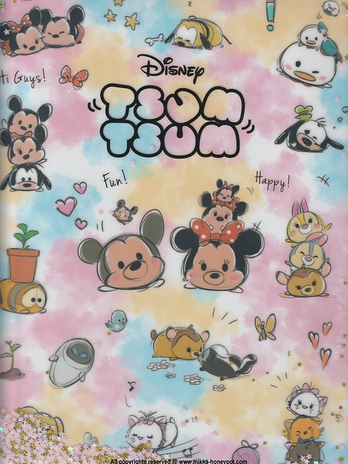 File Collection - Tsum Tsum Color Double Sided File