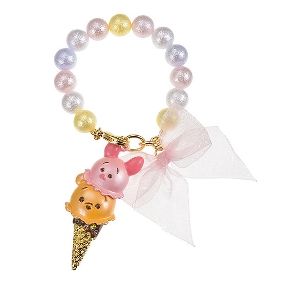 Bag Decoration Collection - Bag charm Tsum Tsum ice-cream Pooh