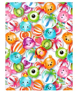 A5 Memo/Sticky Note pad :  Tsum Tsum : Candy Series - A5 memo pad