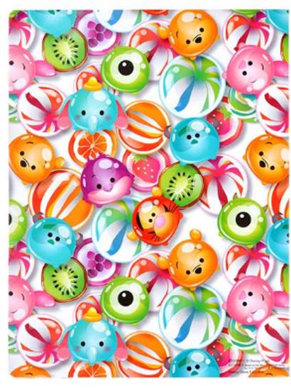 A5 Memo/Sticky Note pad :  Tsum Tsum : Candy Series - A5 memo pad