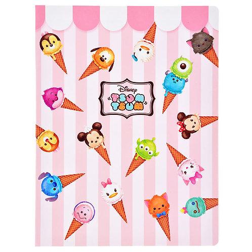 L size Memo pad :  Tsum Tsum Ice-cream