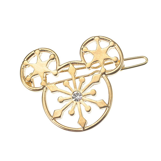 HairClip Collection - Mickey Snowflake Decoration Hairclip