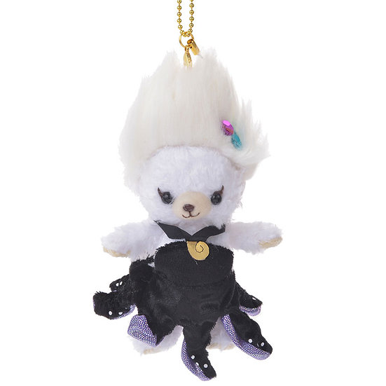Unibearsity Keychain Collection - The Little Mermaid Ursula Puffy Unibearsity