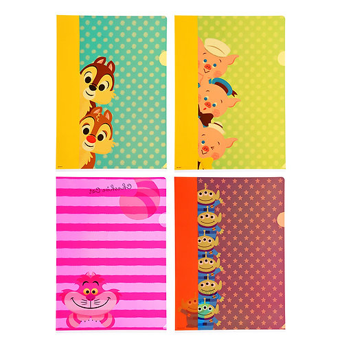 File Collection -Hello! Friend File Set (4pc)