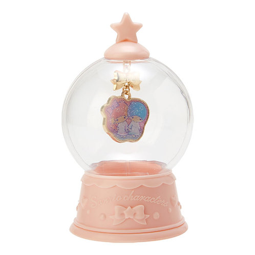 Necklace Series - Little Twin Star Shiny Necklace in the Snow globe
