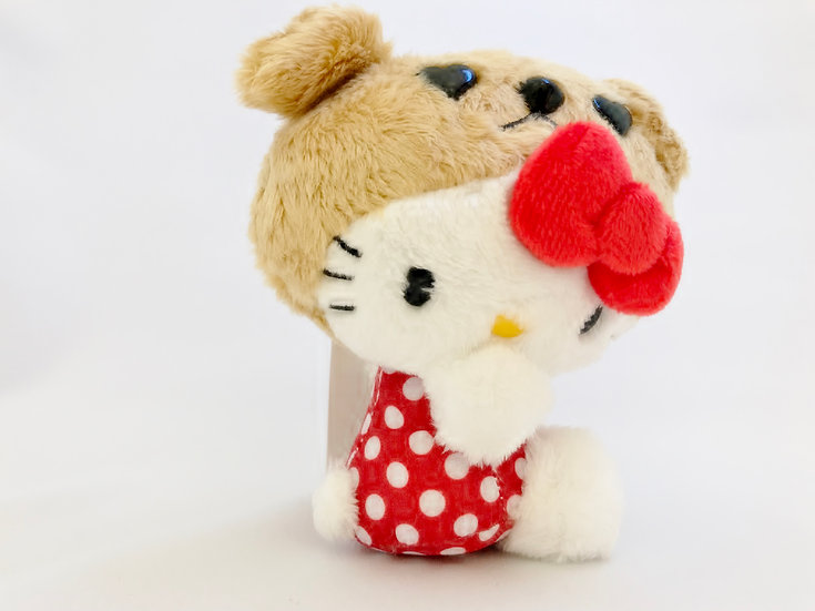 Plushie Keychain Series: Sanrio Exclusive Hello Kitty Shibuya Hachiko