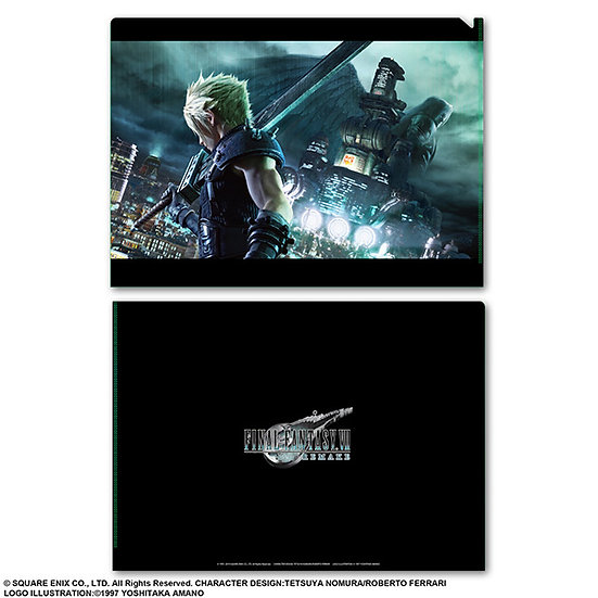 File Collection - Final Fantasy VII remake Metallic File Cloud  ( 01 pc )