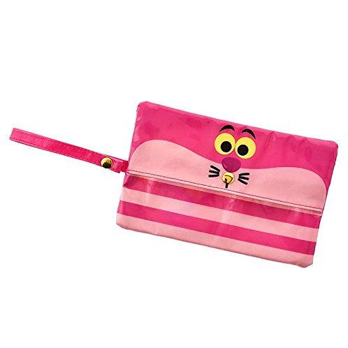 Coin & Card Pouch Collection :Alice In Wonderland Pink Wet Tissue Case
