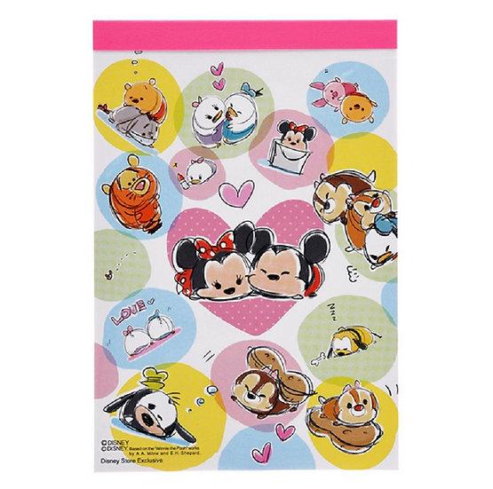 A6 memo TSUM TSUM Mickey & Friends