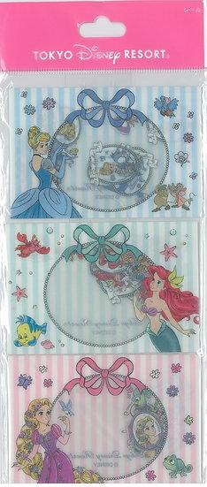 Sticker Pack Collection - Tokyo Disneyland Princess Sticker with envelope pouch