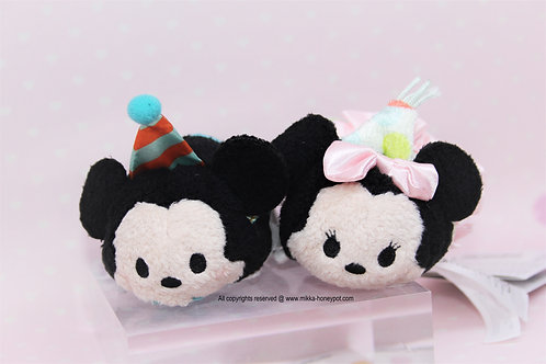 S size Tsum Tsum Set - Mickey & Minnie 2016  Birthday Tsum Tsum