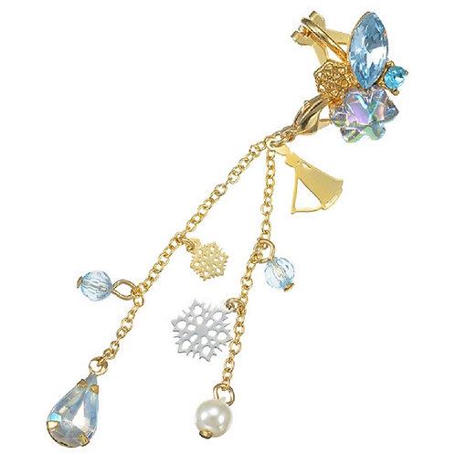 Clip Earring Collection :   2 way earring  Frozen Elsa Ear Dress