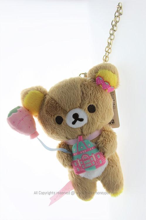 Plushie Keychain Collection - Rilakkuma Ichigo Tokyo Plush