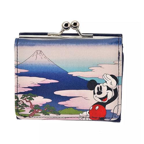 Wallet Purse Collection : Mickey Wallet Ukiyoe Japan