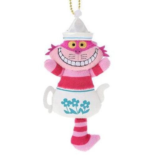 Plushie Keychain Series : Alice in wonderland Cheshire Tea Pot Plushie Keychain