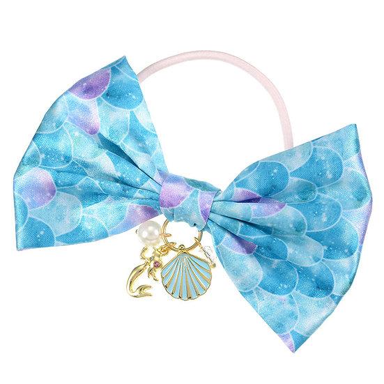 Elastics Decoration Series : Little Mermaid Crystal Dream Hair Bow Bobbles