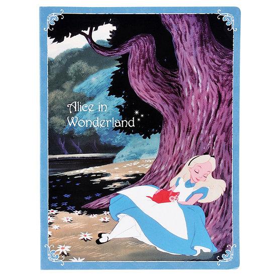 Alice in wonderland vintage style Big Memo Pad