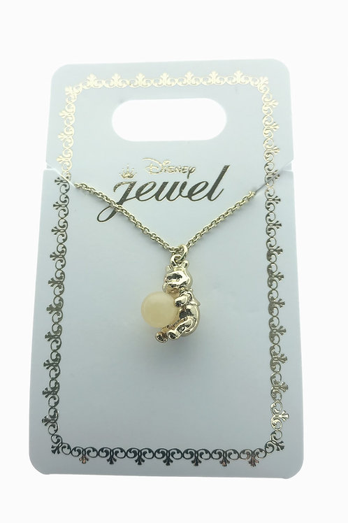 Necklace Series - Winnie the Pooh Natural Stone Necklace ( Wealthy )