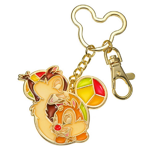Little Accessories - Chip & Dale Stained Glass Keychain