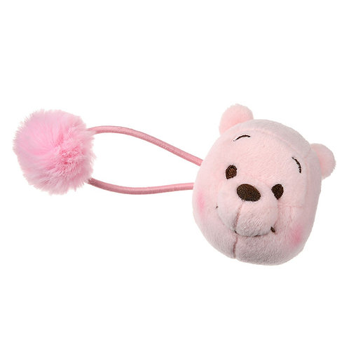 Elastics Collection- Winnie the Pooh Pink Sakura Series Pony Hair Bobbles