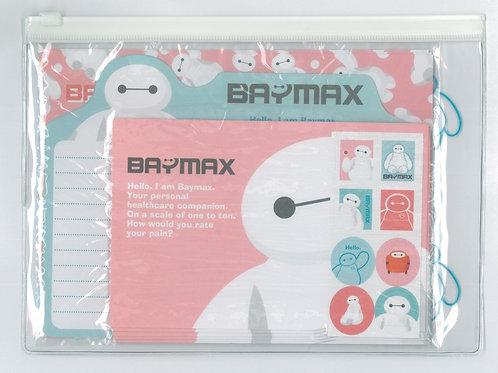 Letter/Greeting card -  Baymax letter Set Pocket File