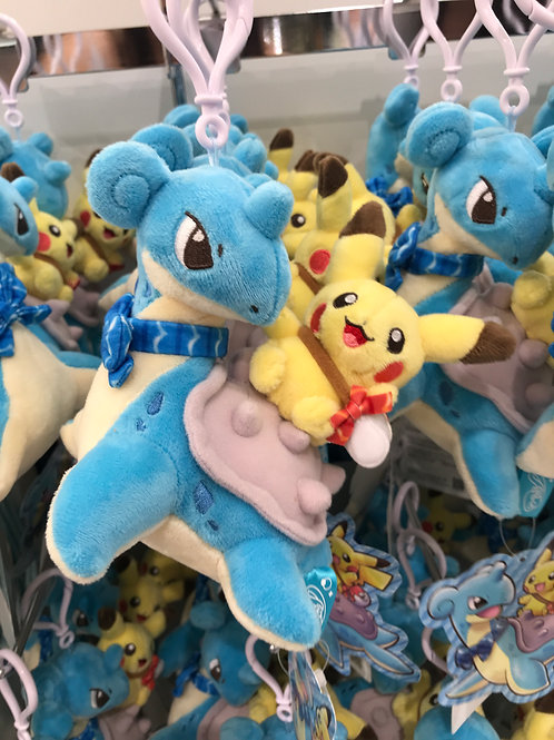 Pokemon [PO]- Singapore Jewel Changi Airport Pikachu & Lapras keychain