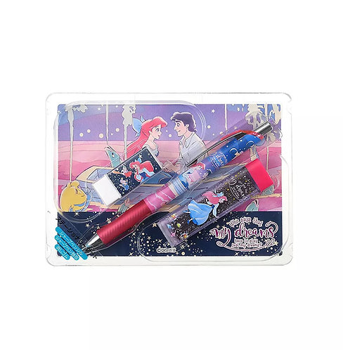 Mechanical Pencil Series :  Little Mermaid Stationery Set Story with Postcard