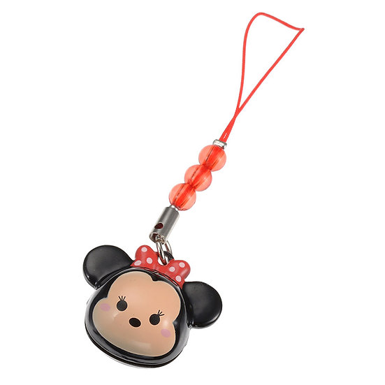 Strip Keychain Collection -Bell strap Minnie Tsum Tsum Bell Keychain