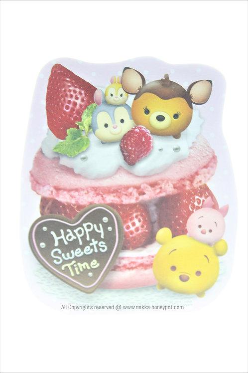 Memo Collection - Tsum Tsum Happy Sweets Time Strawberry Macaron Memo