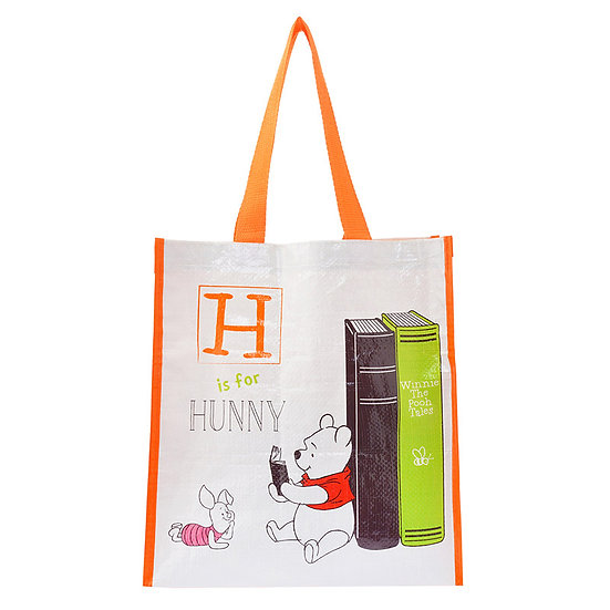 Tote shopping Bag - Winnie the Pooh reading