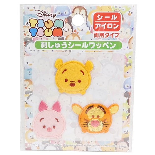 Embroidery DIY Sticker Collection - Tsum Tsum Winnie the Pooh & Friend