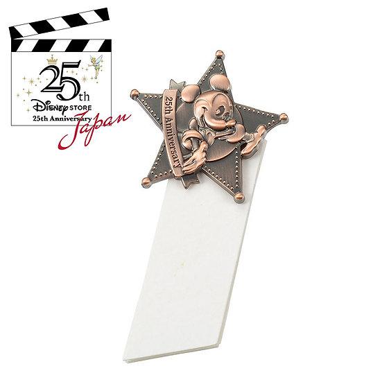 Japan Disneystore 25th Anniversary - Mickey Pin Badge