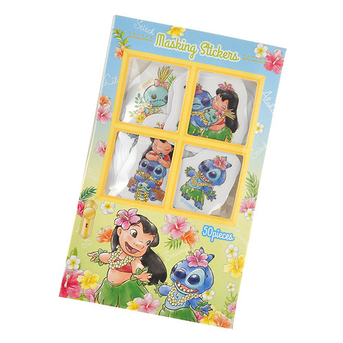 Sticker Pack Collection -  Lilo & Stitch Door Tropical Flower Summer Sticker