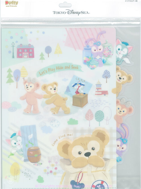 File Collection - Duffy Hide & Seek Summer Series File Set ( 04 pc )