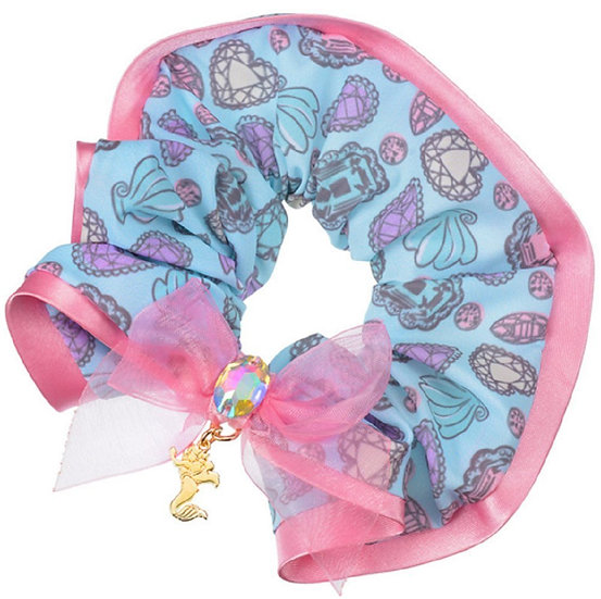 Scrunchie Hair Decoration : Disney Diamond Shine Little Mermaid Hair Scrunchie