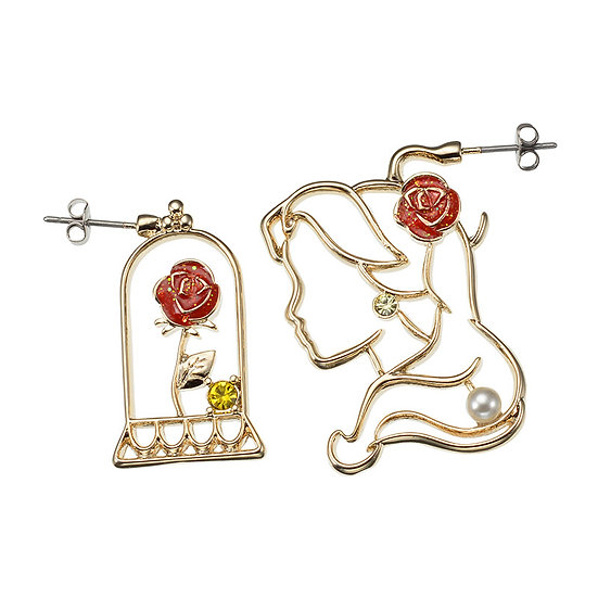 Earring Collection : Simple Jewelry series Beauty and The Beast Belle earring