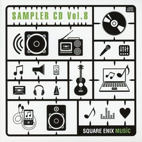 CD Collection : Square Enix Music Sampler CD Vol.8