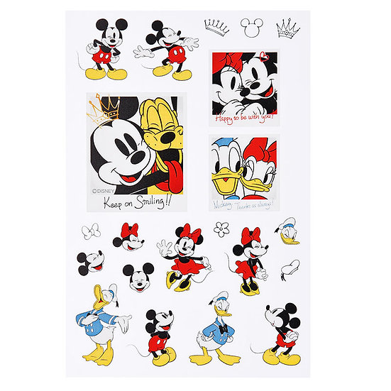 Disney Characters Sticker Collection - Mickey Friendship Sticker
