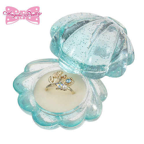 Jewel Case : Crystal Dream Mermaid Ariel Ring