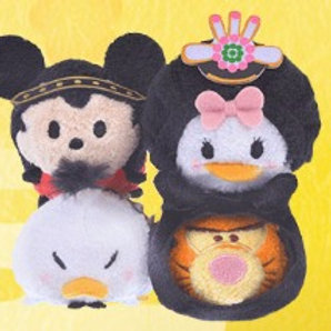 DisneyStore Japan 25th Anniversary Series Tsum Tsum Full Set