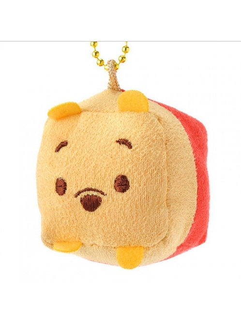 Plushie Keychain Collection -Square box Winnie The Pooh plushie keychain