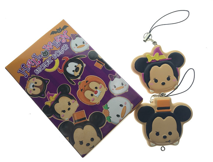 TOY Collection - Secret Strap Halloween Tsum Tsum Cookie Mickey & Minnie Set